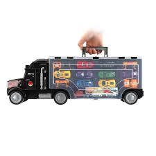 100 Semi Truck Toy Ktaxon New Kids 2Sided Transport Car Carrier