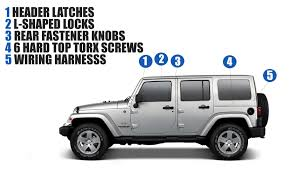 Remove The Hard Top On Your Wrangler   Faqs   Safford Of Warrenton