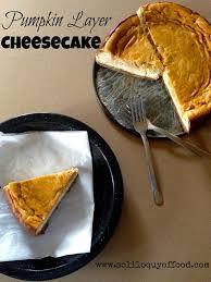 Pumpkin Layer Cheesecake by Pumpkin Layer Cheesecake Love Bakes Good Cakes