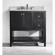 36 Bath Vanity Without Top by Vinnova 713036 Florence 36 Vanity Without Mirror Vanity Top