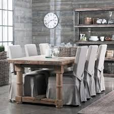 Brilliant Dining Chair Slip Covers Cover Genius Pinterest Room Plan