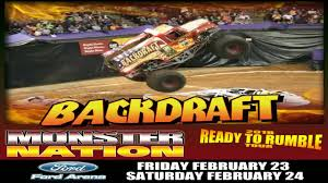 Monster Nation - MONSTER NATION IS READY TO RUMBLE AT FORD PARK ... Jan 16 2010 Detroit Michigan Us January Backdraft Is It A Bird Plane No Its Expressnewscom Backdraft Truck Hot Wheels Monster Jam Firetruck Fire Jeremy Slifo Monster Jam 2017 Harga Trucks Wiki Tondeusebarbe 2012 1 64 Harrisburg Wheelie Contest 31216 730pm Rolls Twice During Bonus Time Of Freestyle Performance Jual Hotwheels Monster Jam Backdraft 443 Di Lapak Safa_toys 164 Toy Car Die Cast And Hot Wheels Truck Upc 887961018257 Superman Diecast Vehicle Xtreme Sports Inc