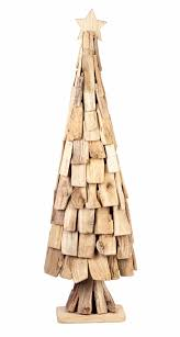 Driftwood Christmas Trees by Contemporary Parlane Driftwood Slatted Christmas Tree With Star On