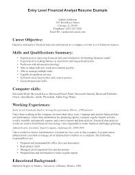 Social Worker Resume Examples Work Objective For General Entry Level Career