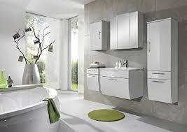 xxs möbel set 5b salona komplett badezimmer weiß front mdf