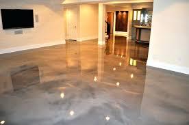 Epoxy Flooring Images Residential Living Room With Concrete Floor 1 Metallic