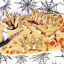 Halloween Pretzel Sticks by Spooky Halloween Severed Finger Sugar Cookies Lindsay Ann