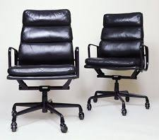 Dwr Eames Soft Pad Management Chair by Herman Miller Eames Aluminum Group High Back Executive Chair Black