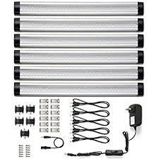 le cabinet led lighting 6 panel kit 24w total 12 v dc