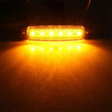 100 Truck Marker Lights Super Sale 0f3c8 10pcs Yellow Led Side Lamp