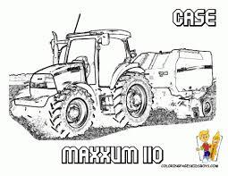 Tracteur Avec Charrue Coloriage Dessin T2189 FIA Coloriage