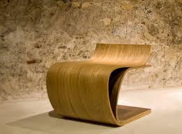 Minimalist Wooden Chair Leaf By Ilio