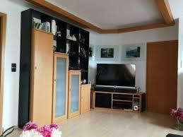 tischler schrankwand schränke buche schwarz wohnzimmer
