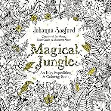 Magical Jungle An Inky Expedition And Coloring Book For Adults Amazonco Uk Johanna Basford 9780143109006 Books