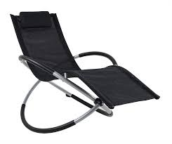 Ukeacn Zero Gravity Folding Rocking Chair - Patio Chaise Lounge Lawn  Reclining Portable Folding Chairs For Indoor&Outdoor Home Yard Pool  Beach,Weight ...