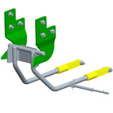 John Deere 1025r Mower Deck Adjustment by Mid Mower Lift System