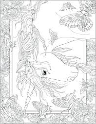 Hard Unicorn Coloring Pages Free Adults For Packed With Creative