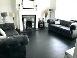 Grey Hardwood Floors Bedroom Dark Wooden Flooring