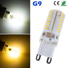 silicone g9 5w 3014 smd 360 degree 64 led light bulb l for
