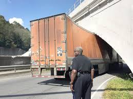 100 Truck Stuck Under Bridge Gets Stuck Under Stone News Tribdemcom