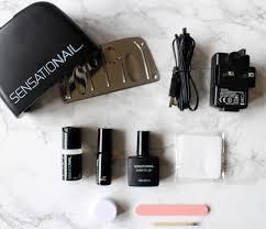 sensationail polish to gel transformer review tutorial