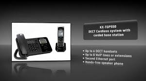 Panasonic KX-TGP500/550 SIP Cordless Phone System For SMB - YouTube Panasonic Kxudt131 Sip Dect Cordless Rugged Phone Phones Constant Contact Kxta824 Telephone System Kxtca185 Ip Handset From 11289 Pmc Telecom Kxtgp 550 Quad Ligo How To Use Call Forwarding On Your Voip Or Digital Kxtg785sk 60 5handset Amazoncom Kxtpa50 Communication Solutions Product Image Gallery Kxncp500 Pure Ippbx Platform Lcot4 Kxhdv130 2line