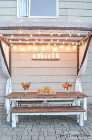best 20 diy outdoor table ideas on pinterest outdoor wood table
