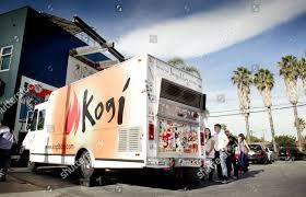 100 Koji Truck Kogi BBQ Food Los Angeles USA Stock Photo 2851014a