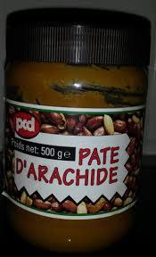 pate d arachide pcd pâte d arachide beurre de cacahuète pcd 500g