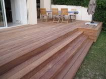 réaliser une terrasses en bois sur dallage ou béton