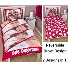 ONE DIRECTION DUVET COVERS & BEDROOM ACCESSORIES OFFICIAL 1D