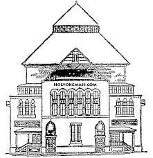 Schoolhouse Free Printable Coloring Pages