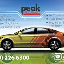 Brake And Lamp Inspection Fresno Ca by Peak Performance 11 Photos Smog Check Stations 2220 N