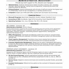 Executive Assistant Resumes Examples Best Administrative Assistant