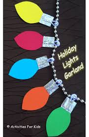 Christmas Lights Garland Decorate The Home Or Classroom Individual Blubs Are Cute As Gift Tags