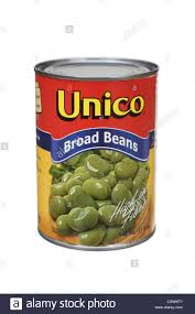 Broad Beans Can Canned Tin Of Fava