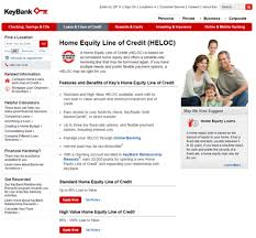 Key Bank Home Equity Line of Credit Home Equity Line of Credit