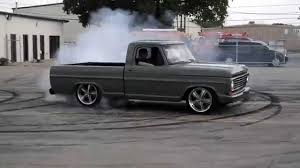100 68 Ford Truck Ford F100 Gas Monkey Garage Bournout YouTube
