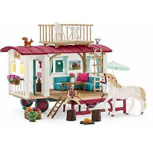 Schleich Horse Club Camper Secret Club Meetings Playset