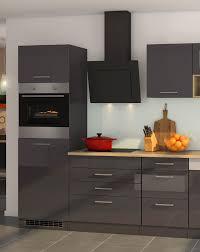 küchenzeile münchen vario 2 küche mit e geräten breite 300 cm hochglanz grau graphit