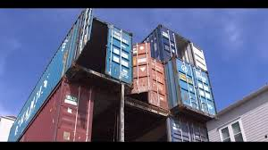 104 Shipping Container Homes In Texas Man Building A 3 Story Home Third Ward Khou Com