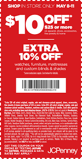 Pinned May 9th: $10 Off $25 At JCPenney #coupon Via The ... Online Coupons Thousands Of Promo Codes Printable 40 Off Jcpenney September 2019 100 Active Jcp Coupon Code 20 Depigmentation Treatment 123 Printer Ink Coupons Jcpenney Flowers Sleep Direct Walmart Cell Phone Free Shipping Schott Nyc Promo 10 Off 25 More At Or Online Coupon Carters Universoul Circus Dc Pinned 24th Extra Exclusive To Get Discounts On Summer Offers