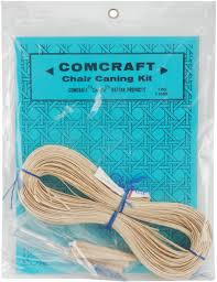 Chair Caning And Seat Weaving Kit by Comcraft Chair Caning Kit Fine 2 5mm Cane Walmart Com