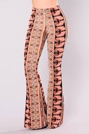 Scarlett Printed Flare Pants