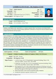 Operation Manager Resume Job Format Download