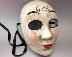 Purge Anarchy Mask For Halloween by The Purge Mask Etsy