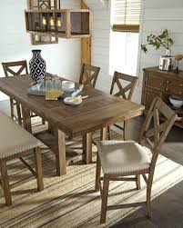 Ashley Dining Room Tables Counter Height Table Sets With Leaf