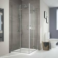 details zu duschabtrennung 80x80 90x90 70x70 eckeinstieg faltbar dusche glastür duschkabine