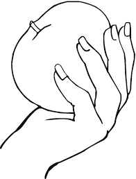 Left Hand Print Colouring Pages Coloring Of Prints