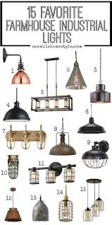 favorite farmhouse industrial lights industrial lights and house